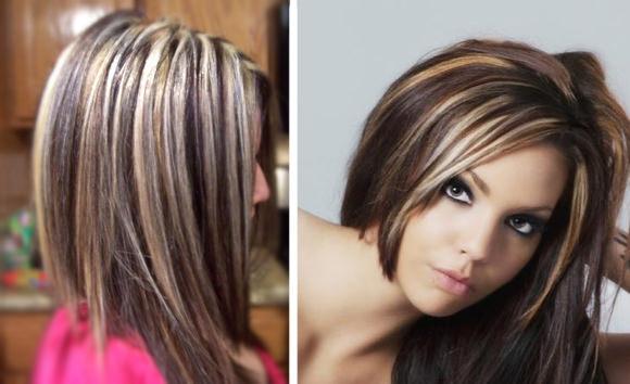 покраска волос милировка фото