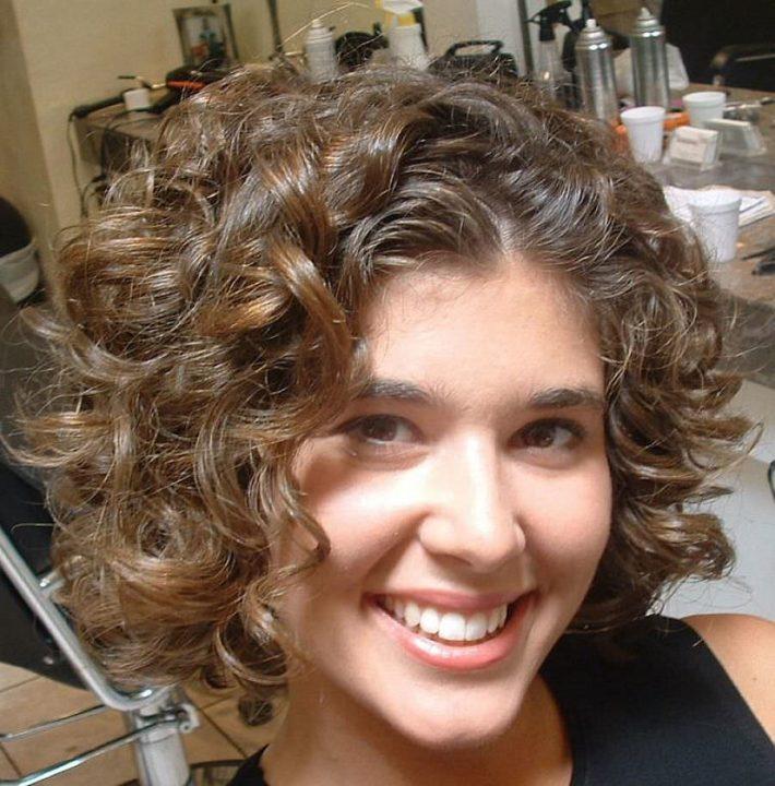 Завивка волос в домашних условиях на короткие 83