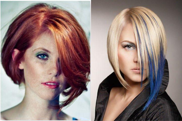 Модные прически и цвет волос фото