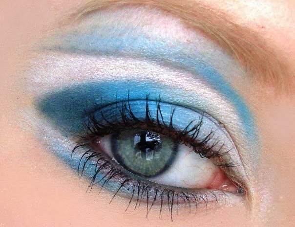 Идей макияжа для голубых глаз