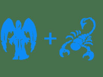 Скорпион и дева в сексе
