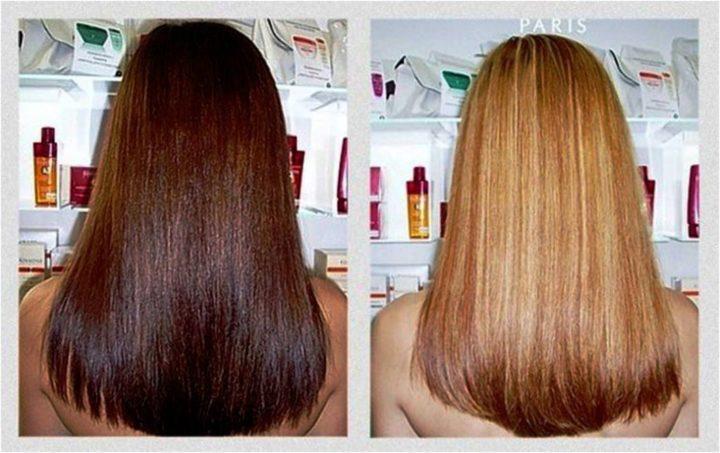 Как вывести черный цвет волос в домашних условиях 20
