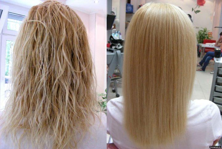Как сделать ботокс для волос в домашних условиях с желатином рецепт