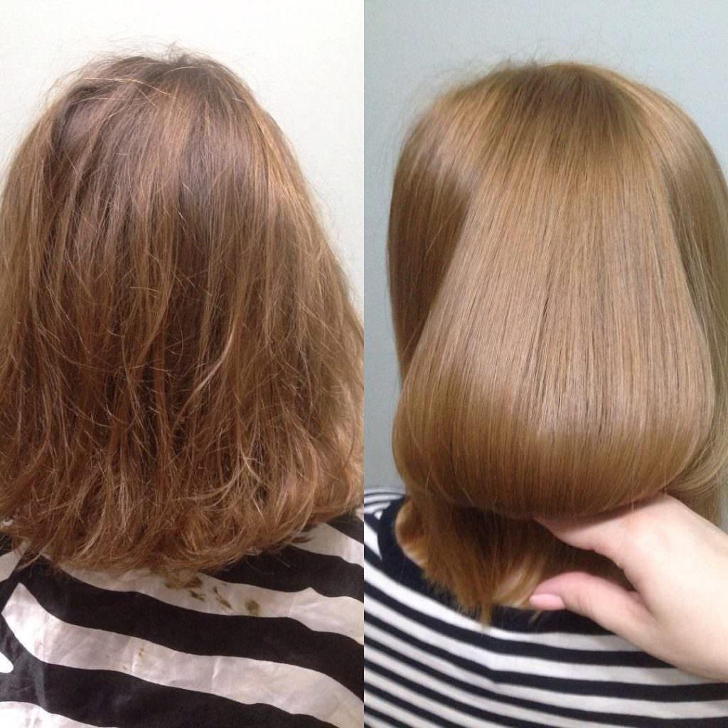 Ламинирование волос в домашних условиях с помощью желатина отзывы