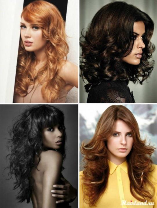 Как уложить волосы средней длины в 57