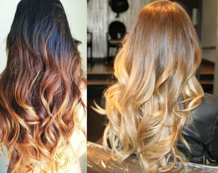 Как в домашних условиях покрасить волосы в стиле омбре фото