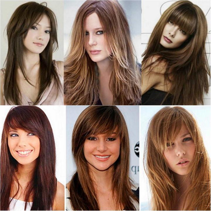 Виды причёсок женских на длинные волосы фото с названиями