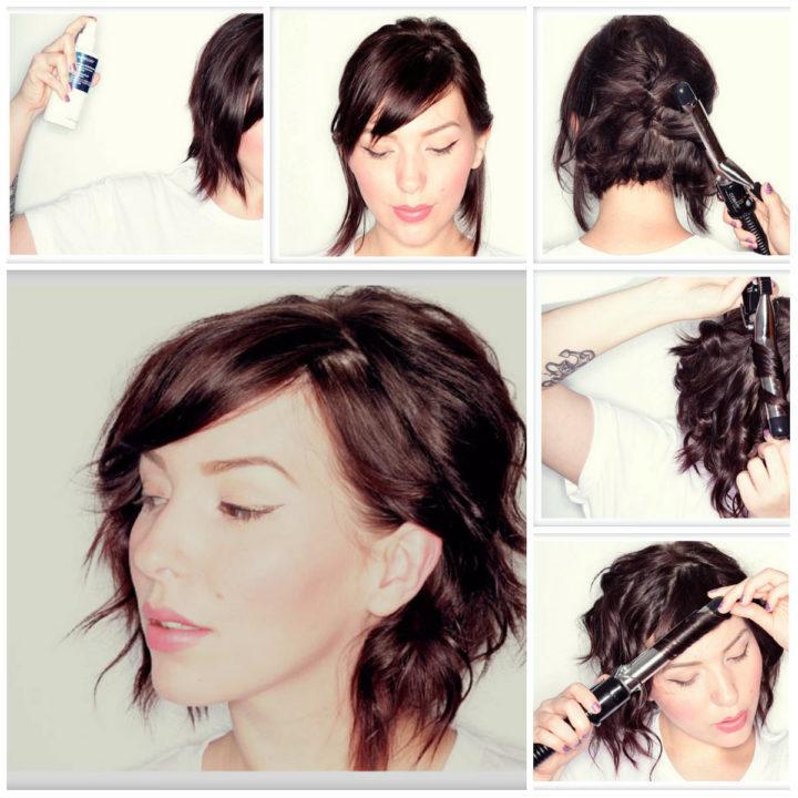 Причёски на удлинённое каре своими руками фото