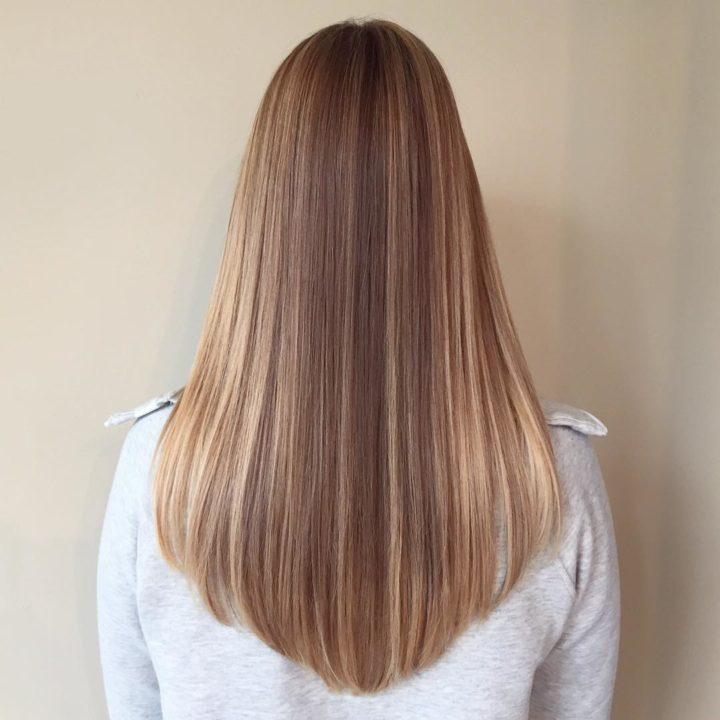 I love v shaped haircuts. trying to get my hair long so I can cut it like Pictures of v shaped haircuts