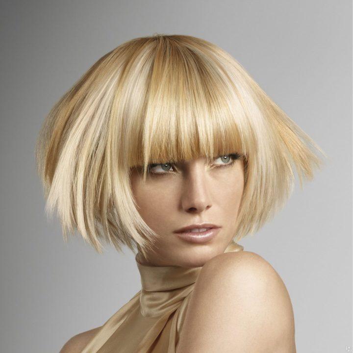 Прически на обесцвеченные волосы фото