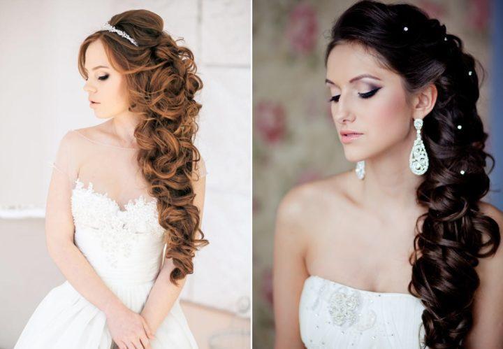 Красивые свадебные прически для каждого типа волос. 151 лучшее фото