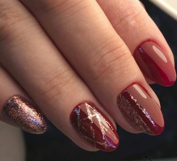 Красивый Шеллак На Короткие Ногти Фото