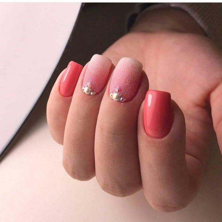 Цветной Шеллак На Ногтях Фото